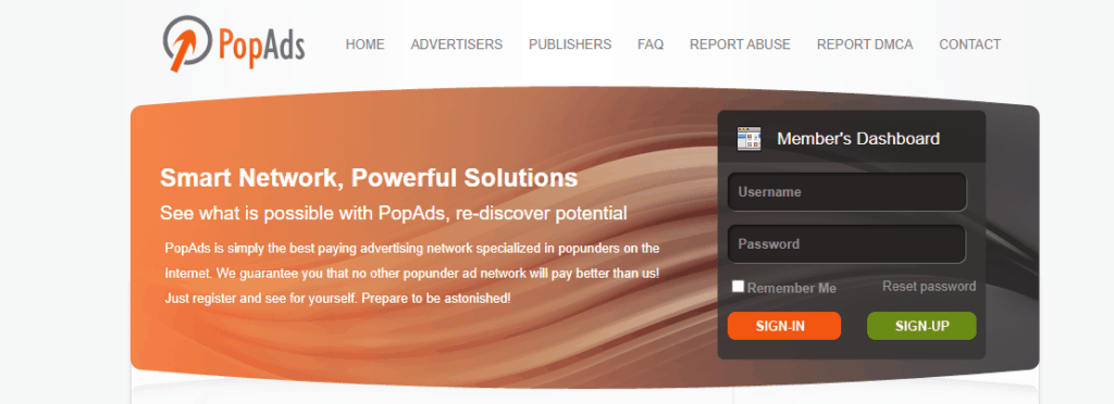popads networks images